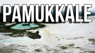 Travel to Pamukkale Turkey travel guide video (tourism) | Hierapolis