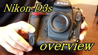 Nikon D3s 外観とシャッター