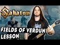 Fields Of Verdun Guitar Cover & Lesson