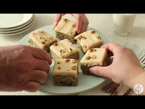 How to Make Banana Bread Bars with Brown Butter Frosting | Dessert Recipes | Allrecipes.com