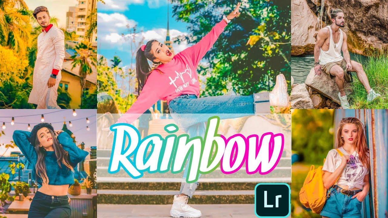 Lightroom Presets | Rainbow Preset | Lightroom Mobile Free DNG 2020