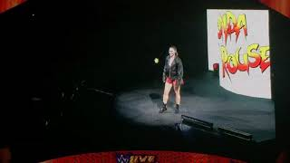 """Rowdy"" Ronda Rousey Entrance - WWE Live Event: Philly"
