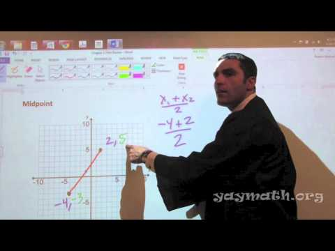 Geometry – Midpoint