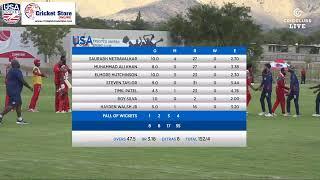 LIVE CRICKET - USA v Oman ICC World Cricket League Division 2