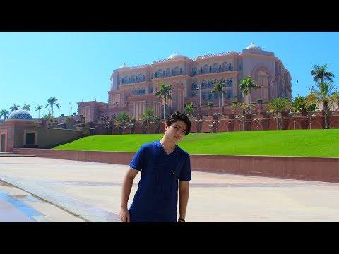 BIGGEST LUXURY 5 STAR HOTEL IN ABU DHABI - EMIRATES PALACE