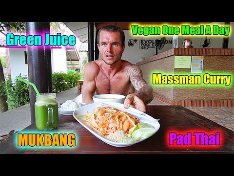 Vegan One Meal A Day MUKBANG - Evolution Yoga Cafe Review