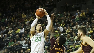 Highlights: No. 13 Oregon men's basketball ekes out win over Arizona State, keeps home win streak...