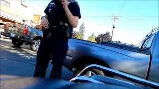 Salem Oregon Police, Open Carry AR-15.