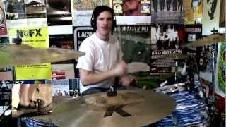 Propagandhi - Anti-Manifesto (Drum Cover) [HD] - Kye Smith
