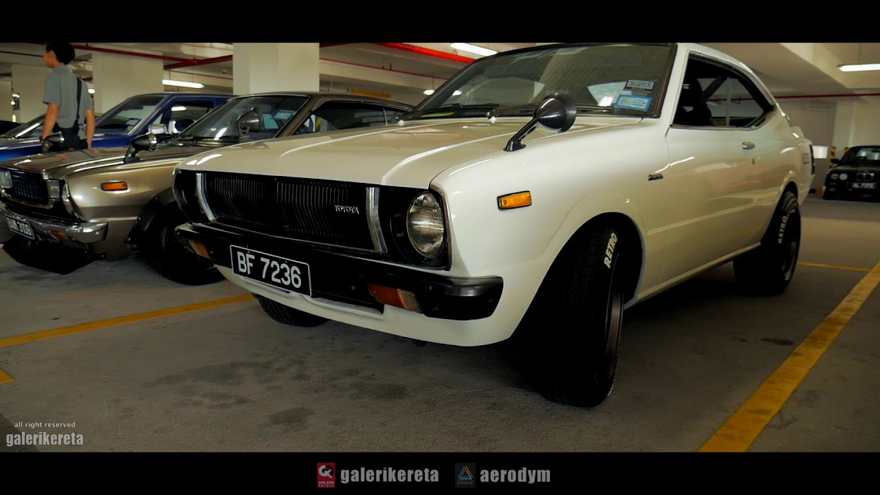 Toyota Corolla KE35 1976 - PetrolHead Sunday Hangout - YouTube