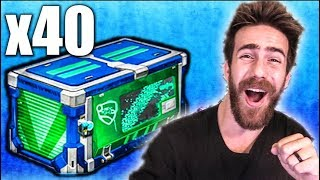 40 NEW IMPACT ROCKET LEAGUE CRATE OPENING!