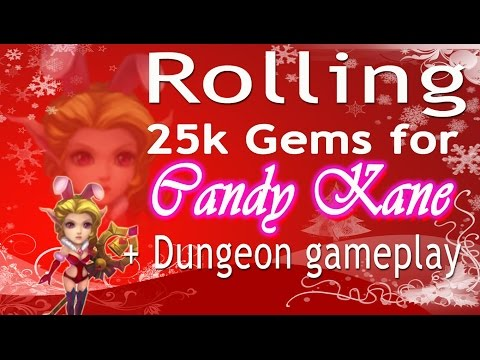 Castle Clash-Rolling 25k Gems For Candy Kane (Taiwan)