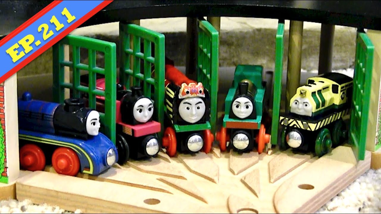 Roundhouse Roulette Thomas Friends Wooden Railway Adventures Episode 211