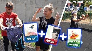 Vortex Parkour Challenge #1 | Tary vs. Seby