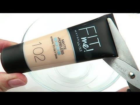Will it Slime? Testing Maybelline Foundation! Slime DIY
