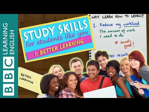 Study Skills – Better learning