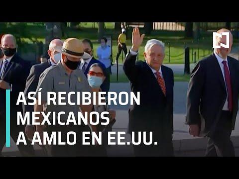 Mexicanos Reciben a AMLO en Estados Unidos - En Punto