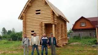 Строительство деревянного дома бани 5х6 проект Вальма