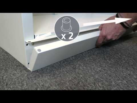 Silverline Office Equipment Assembly Instructions: Stationery Cupboard