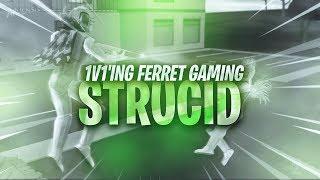 1V1'ing Ferret Gaming in Strucid | Roblox
