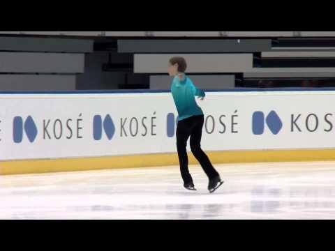 2015 ISU Junior Grand Prix of Figure Skating Men Free Skate Roman SADOVSKY CAN