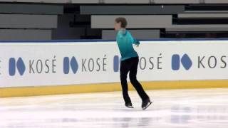 2015 ISU Junior Grand Prix of Figure Skating Men Free Skate Roman SADOVSKY CAN