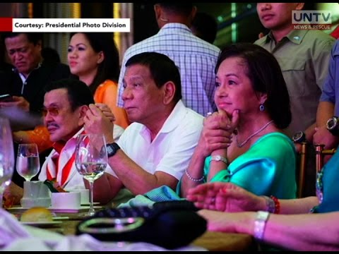PRRD attends 80th birthday celebration of former President Joseph Estrada