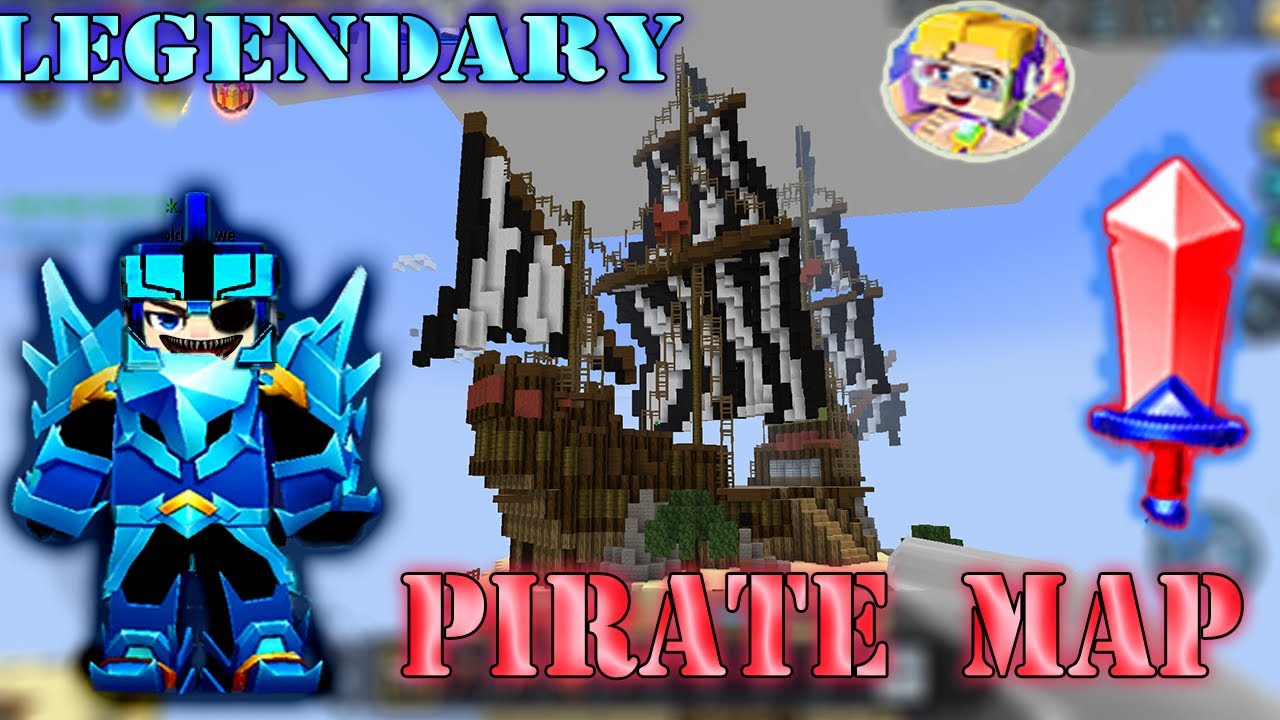 LEGENDARY NEW PIRATE MAP In Bed Wars | Blockman Go Gameplay (Android , iOS)