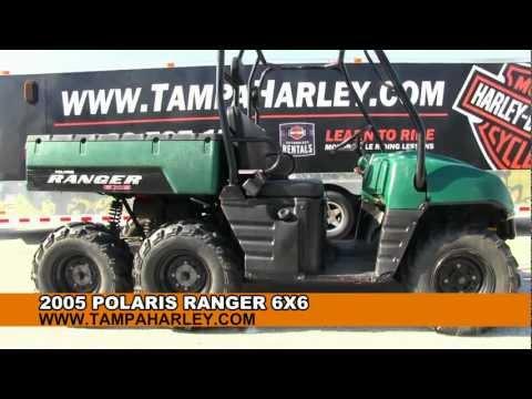 USED 2005 Polaris Ranger 6X6 UTV For Sale