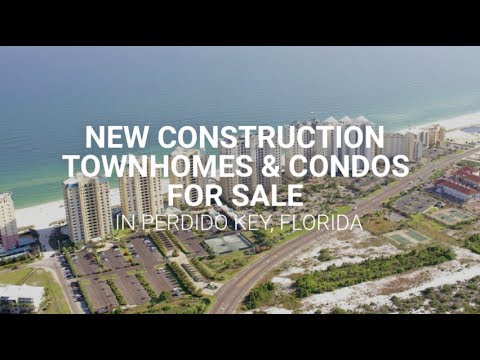 New Construction Townhomes Condos For Sale In Perdido Key Florida
