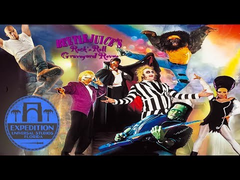 The Fast & Furious History Of Beetlejuice's Graveyard Revue | Expedition Universal Studios Florida