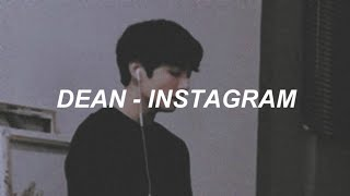 Dean - 'Instagram' Easy Lyrics