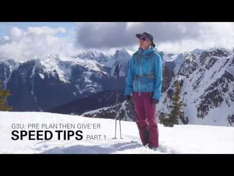 Pre Plan Your Ski Day Then Give'r - Speed Tips Ep.1 - #G3U