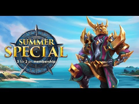 RuneScape Summer Special 2019 - Grab 3-for-2 Membership!
