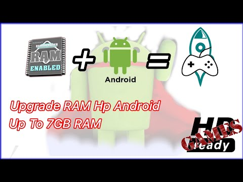 How to add RAM to all Android phones to play HD games | Upgrade