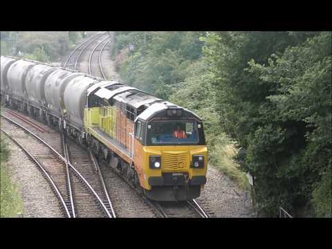 Freight trains & Union of south Africa around Westbury
