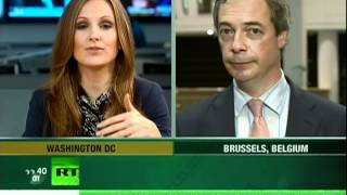 "Nigel Farage on the ""EU Titanic"" and the ""Rebirth of National Socialism in Europe"""