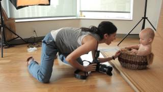 Tamron How-To Baby Photography: A Studio Shoot(Watch as Jami Saunders walks you through a baby shoot, and shares with us her philosophy on lighting, prop use, getting the special smiles you're looking for, ..., 2012-11-15T15:38:07.000Z)