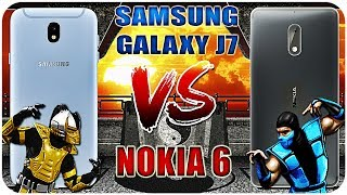 Samsung Galaxy J7 2017 vs Nokia 6 Сравнение / Кто лучше? Идентичные смартфоны?