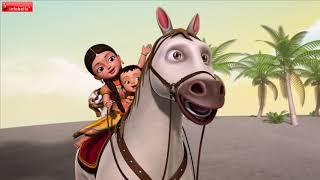 আমার ঘোড়া - Horse Song   Bengali Rhymes for Children   Infobells