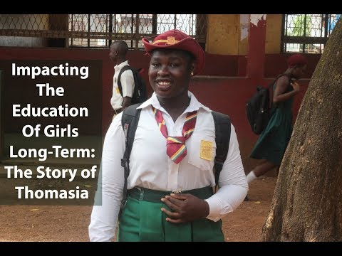 Impacting the Education of Girls Long-Term: The Story of Thomasia