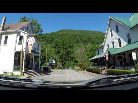Descriptive drive from Slate Run to Cedar Run to Blackwell PA