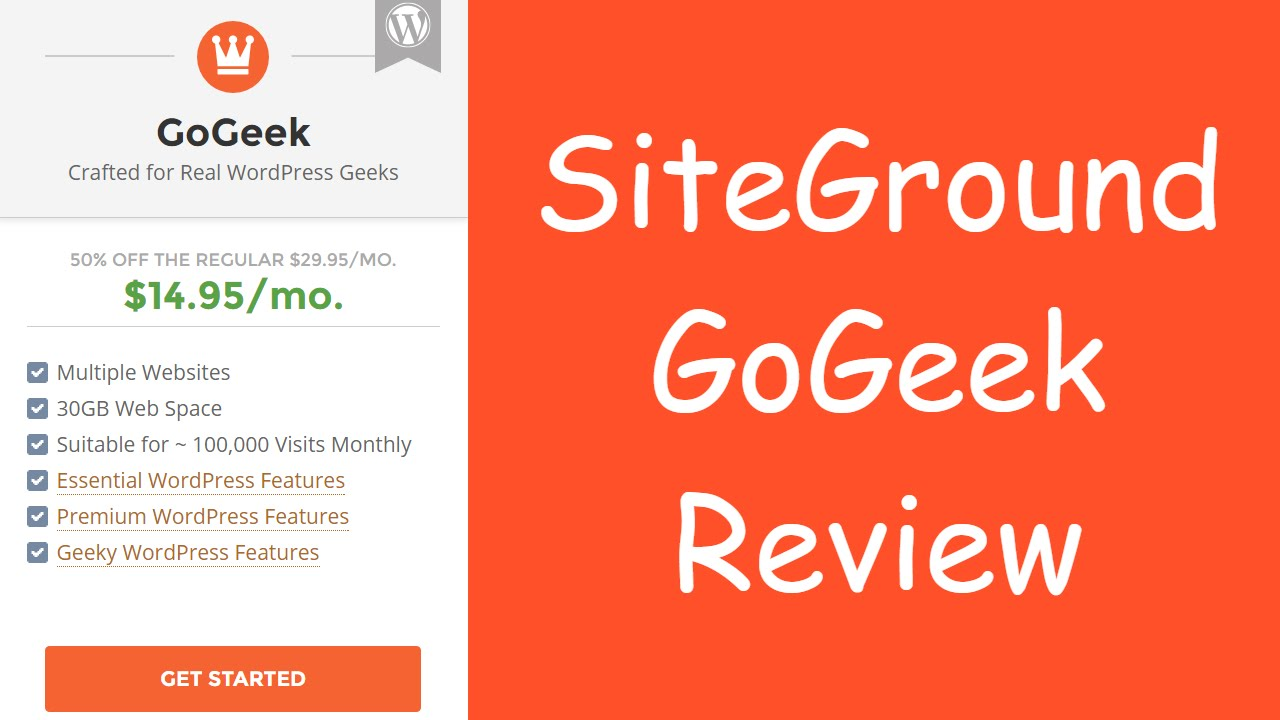SiteGround GoGeek Review (Is It Worth It?)