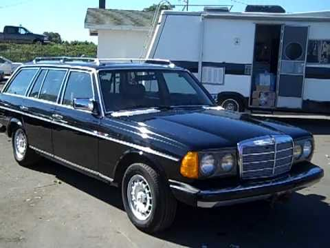 1984 Mercedes Benz W123 Station Wagon 300td Turbo Diesel Sd Youtube