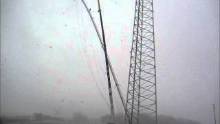 Radio Tower Collapses during removal