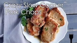 Crazy Slow Cooker Porkchops