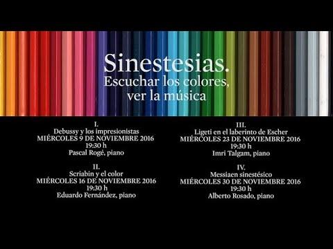 Sinestesias. Escuchar los colores, ver la música