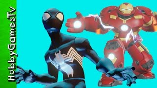 Spiderman Hulk Ultron Hulkbuster Disney Infinity 3 0 Battlegrounds HobbyGamesTV