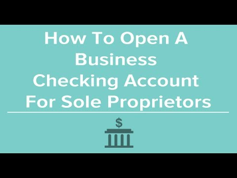 Open Small Business Checking Account: Focused On Online Checking Accounts