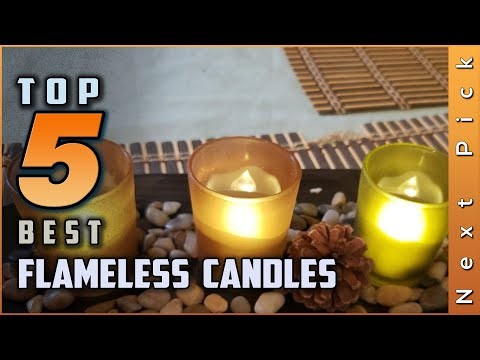 Tpo 5 Best Flameless Candles Review In 2020